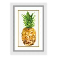 Amanti Art Pineapple I by PI Studio 21 -Inch X 30 -Inch Framed Wall Art