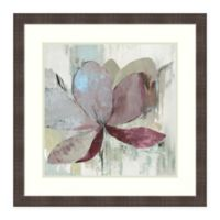 Amanti Art Drippy Floral I by Asia Jensen 26 -Inch Square Framed Wall Art