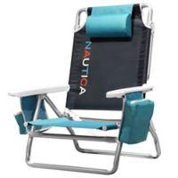 Nautica® 5-Position Beach Chair in Black