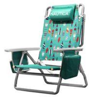 Nautica® 5-Position Beach Chair in Teal