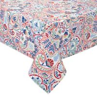 Kastoria 60-Inch x 102-Inch Oblong Tablecloth in Red