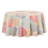 Sullivan 60-Inch Round Indoor/Outdoor Tablecloth