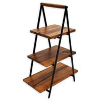 222 Fifth Westmore 3-Tiered Server in Brown