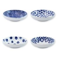 viva by VIETRI Santorini Condiment Bowls (Set of 4)