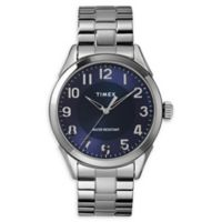 Timex© Briarwood Men's 40MM TW2T46000 Stainless Steel Watch with Expansion Band