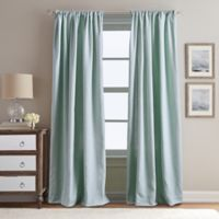Peri Home Eastman 108-Inch Rod Pocket Window Curtain Panel in Aqua