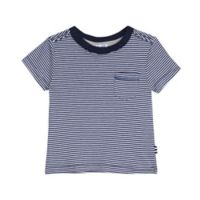 Splendid® Size 12-18M Microstripe Shirt in Navy