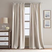 Peri Home Eastman 95-Inch Rod Pocket Window Curtain Panel in Linen