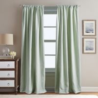 Peri Home Eastman 95-Inch Rod Pocket Window Curtain Panel in Sage