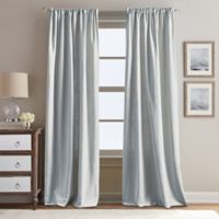 Peri Home Eastman 95-Inch Rod Pocket Window Curtain Panel in Silver