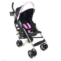 Evezo Maxord Lightweight Umbrella Stroller in Pink