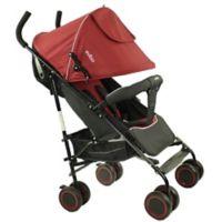 Evezo Travis Lightweight Umbrella Stroller in Red