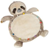 Mary Meyer Sloth Baby Playmat in White/Tan
