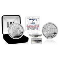NFL New England Patriots Super Bowl LIII 1 Troy oz. 0.999 Fine Silver Champions Coin