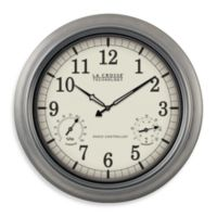 La Crosse Technology 18-Inch Atomic Wall Clock with White Dial