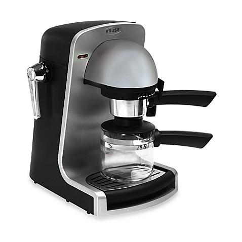 Imusa Bistro Espresso Maker In Silver