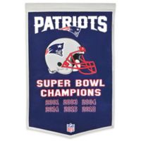 NFL New England Patriots Super Bowl LIII Champions Banner in Navy