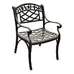 Crosley Sedona Outdoor Arm Chairs in Black (Set of 2)