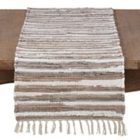 Saro Lifestyle Prakrti 72-Inch Table Runner in Natural