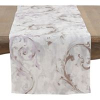 Saro Lifestyle Fleur Douce 72-Inch Table Runner