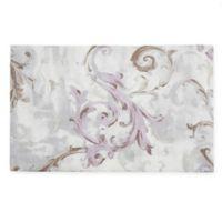 Saro Lifestyle Fleur Douce Placemats in Lavender (Set of 4)