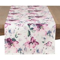 Saro Lifestyle Giardino 72-Inch Table Runner in Pink