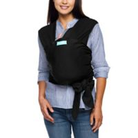 Moby® Wrap Viscose from Bamboo Baby Carrier in Black
