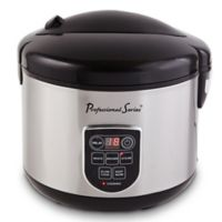 Professional Series Stainless Steel 20-Cup Digital Rice Cooker