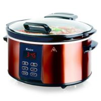 Euro Cuisine® 6 qt. Slow Cooker in Copper/Black