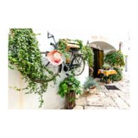 Christopher Knight Collection The Bicycle Wall 27-Inch x 36-Inch Canvas Wall Art
