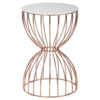 Elle Decor® Cami Accent Table in Gold