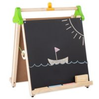 Hey! Play! Children's 2-Sided 3-in-1 Tabletop Easel