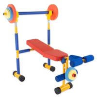 Hey! Play! Toy Bench Press and Leg Extension