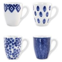 viva by VIETRI Santorini Mugs (Set of 4)