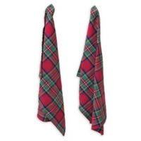 Boston International Tartan Plaid Tea Towels (Set of 2)