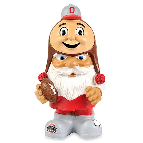 Charmant Ohio State University Mad Hatter Garden Gnome