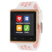 iTOUCH 41MM Air 2 Smart Watch in White/Rose Gold