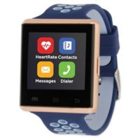 iTOUCH 41MM Air 2 Smart Watch in Navy/Rose Gold