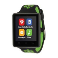 iTOUCH 45MM Air 2 Smart Watch in Black/Lime