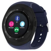 iTouch Curve 45mm Smartwatch in Navy/Black