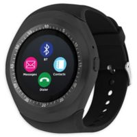 iTouch Curve 45mm Smartwatch in Black/Gunmetal