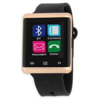 iTouch Air 45mm Smartwatch in Black/Rose Gold