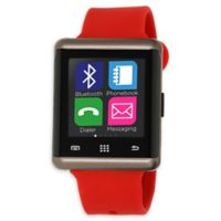 iTouch Air 45mm Smartwatch in Red/Gunmetal