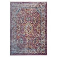 """Artisan by Nicole Miller Border 7'10"""" x 10'2"""" Area Rug in Pink/Ivory"""