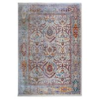 """Artisan by Nicole Miller Distressed 7'10"""" x 10'2"""" Area Rug in Ivory/Grey"""