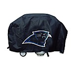 NFL Carolina Panthers Deluxe BBQ Grill Cover