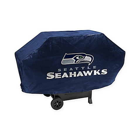 NFL Seattle Seahawks Deluxe Barbecue Grill Cover