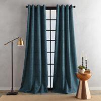 Bedeck Juma Solid 95-Inch Grommet Window Curtain Panel in Teal
