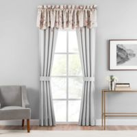 Croscill® Blyth 84-Inch Rod Pocket Window Curtain Panel Pair in Champagne