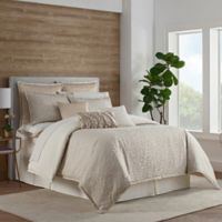 Eva Longoria Leopard Queen Comforter Set in Tan